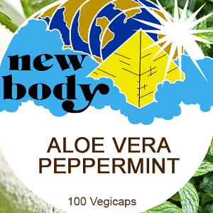 ALOE VERA and PEPPERMINT