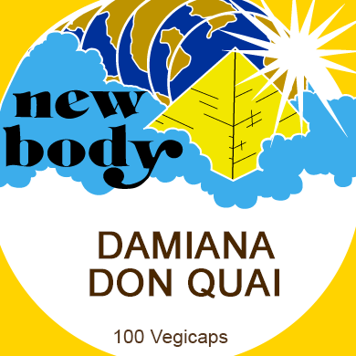 DAMIANA & DONG QUAI This blend of two excellent female herbs can be used to  stimulate the female reproductive organs and keep them in balanc