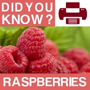 Raspberry : Did You Know? Poster
