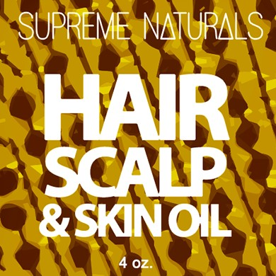 Supreme Natural's Hair Scalp & Skin Oil 4oz