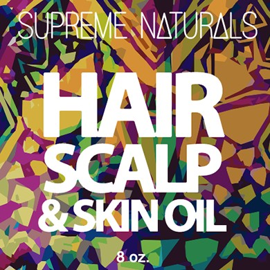 Supreme Natural's Hair Scalp & Skin Oil 8oz